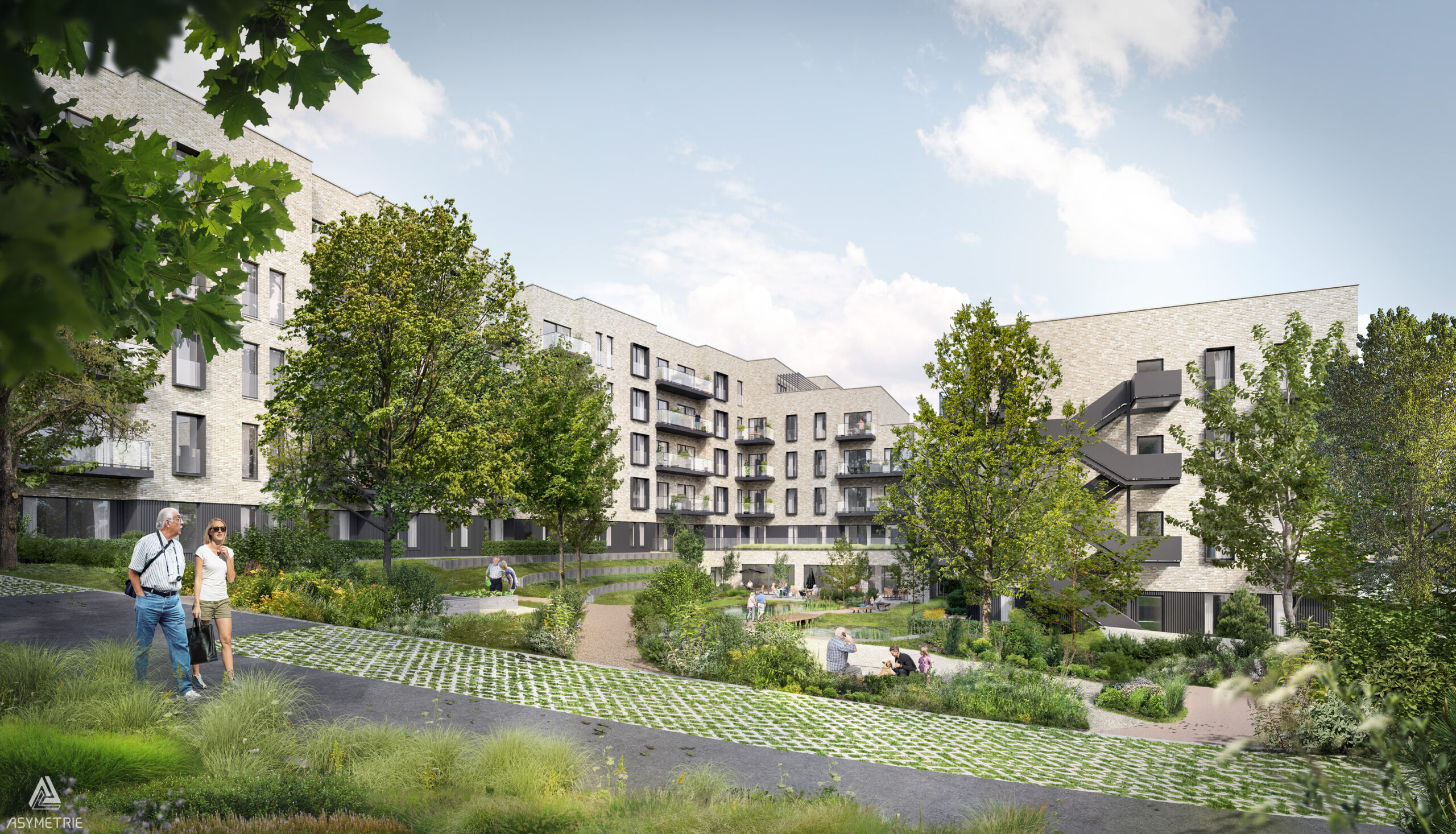 Braine- l-Alleud residence-services - Vue C 201208