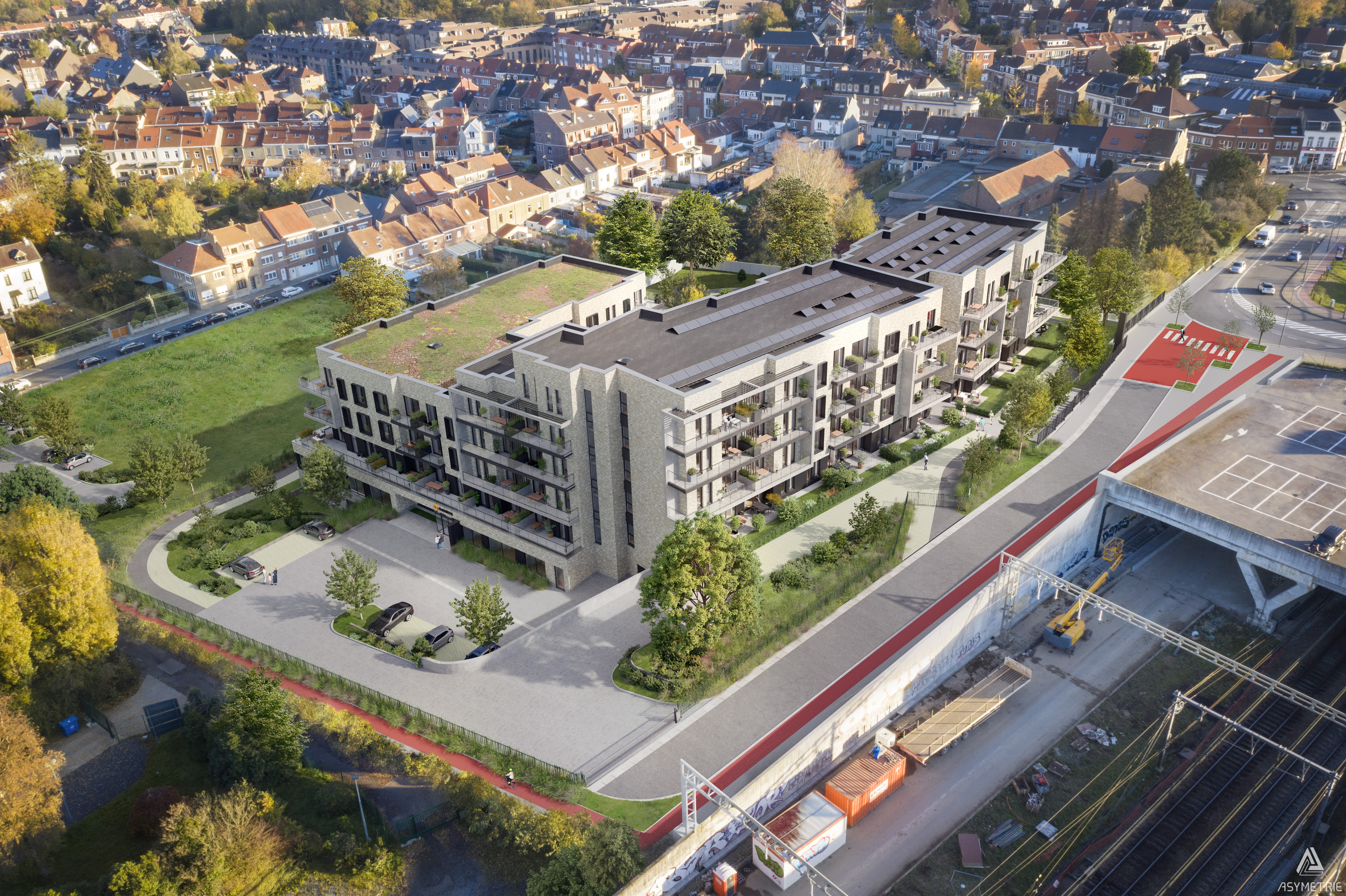 Braine- l-Alleud residence-services - Vue F 201208